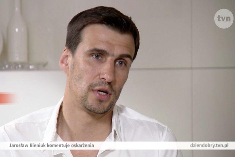 """Były sportowiec udzielił wywiadu dla programu """"Dzień Dobry TVN""""."""
