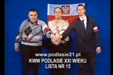 """Oskar W. """"Axelio"""" wystąpiłw spocie z Krzysztofem Kononowiczem"""