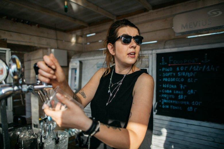 Nieodłącznym elementem warszawskiego Food Portu są napoje chłodzące