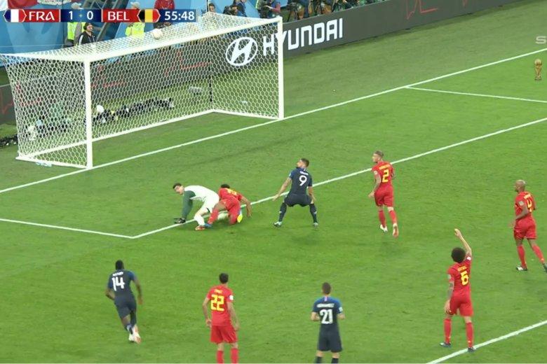 Po genialnym zagraniu Mbappe Francja cudem nie prowadziła 2:0.