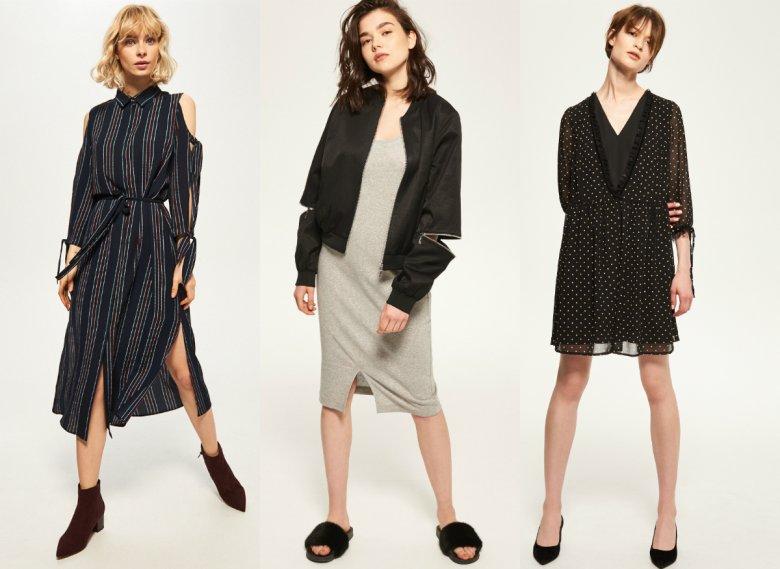 Reserved robi się marką coraz ciekawszą i mniej zachowawczą, tyle że małymi kroczkami. Powyżej – ubrania z aktualnie dostępnej w sklepie kolekcji.