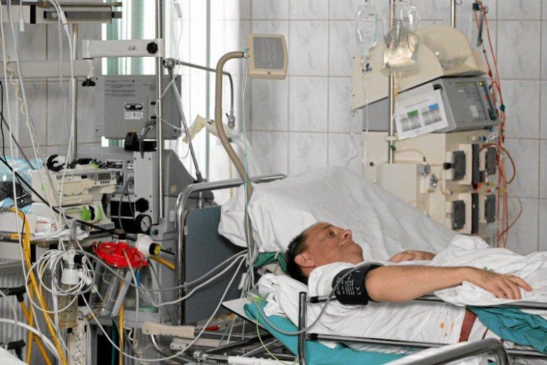 Chory po przeszczepieniu nerki