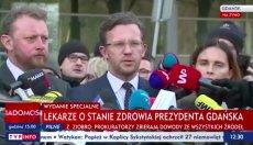 Jaki jest stan zdrowia Pawła Adamowicza?