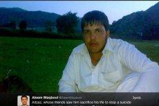 Aitzaz Hasan poświęcił własne życie, by ratować kolegów