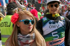 Justyna Żyła dopinguje swojego męża w zawodach