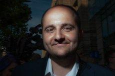 Dariusz Matecki to bloger, który wspiera Patryka Jakiego.