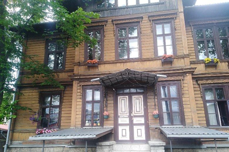 Typowy estoński dom