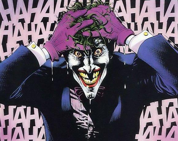 """kadr z komiksu """"Batman: Zabójczy żart"""""""