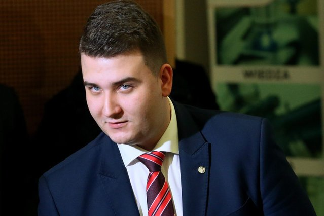 Bartłomiej Misiewicz ma nową posadę – w Polskiej Grupie Zbrojeniowej.