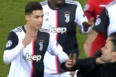 Cristiano Ronaldo był wściekły, kiedy podbiegł do niego kibic.