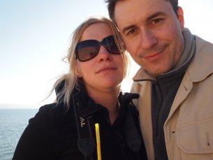 Magda i Sergiusz na murach Akko