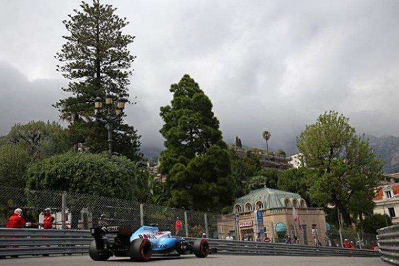 Robert Kubica ostatni w kwalifikacjach przed GP Monako.