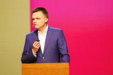 Szymon Hołownia ogłosił swoją kandydaturę w wyborach prezydenckich w 2020 roku.