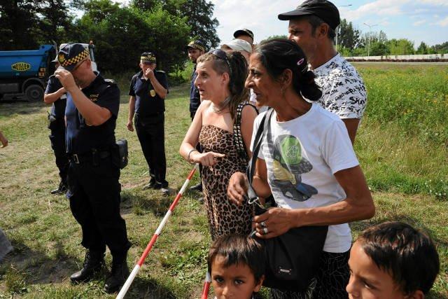 W środę zlikwidowano romskie koczowisko przy ulicy Paprotnej