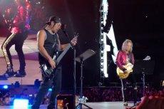"""Metallica podczas koncertu w Polsce zagrała """"Sen o Warszawie""""."""