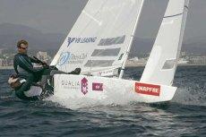 Trening na olimpijskim akwenie w Weymouth
