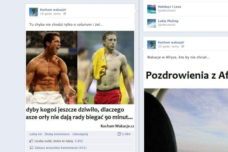 Cristiano Roanldo i Rafał Murawski bez koszulek