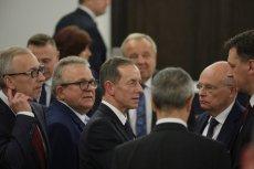 Senatorzy stają w obronie marszałka Senatu Tomasza Grodzkiego.