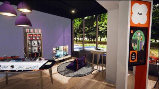 Tak ma wyglądać Smart Store, pierwszy w Polsce interaktywny salon przyszłości, który otworzy wkrótce Orange Polska.