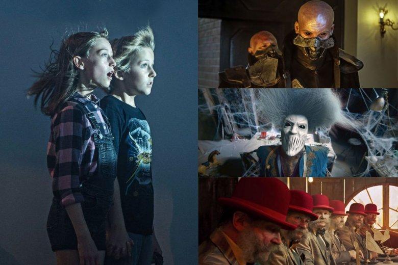 Jak na kino dziecięce przystało - również i w polskich produkcjach nie brakuje elementów fantasy i science-fiction