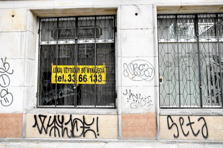 Pustostan na ulicy Marszałkowskiej