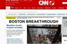 Policja w Bostonie zidentyfikowała zamachowca z Bostonu.