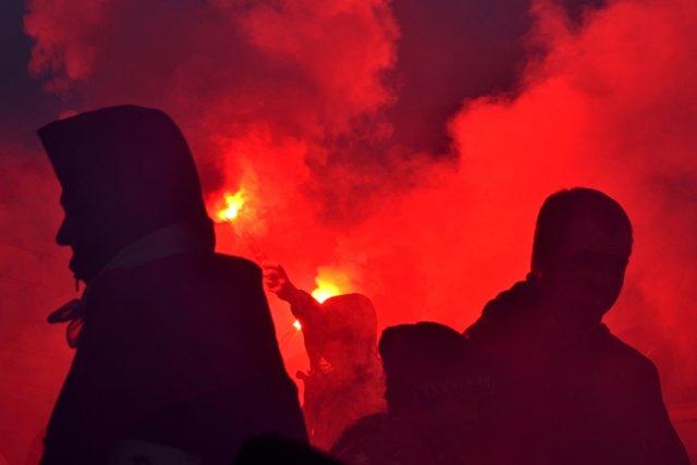 Facebook cenzuruje zdjęcia z Marszu Niepodległości.