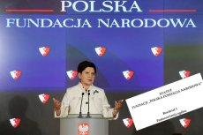 Polska Fundacja Narodowa tuszuje aferę billboardową. Właśnie zmienia statut, aby przykryć tę sprawę.