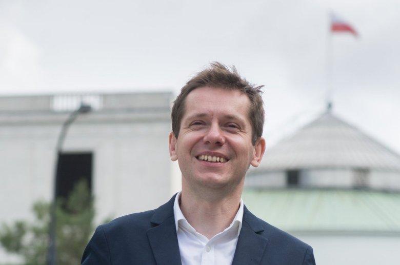 Sebastian Liszka to warszawski kandydat Lewicy do Sejmu. Szuka wyborców w aplikacji Grindr.