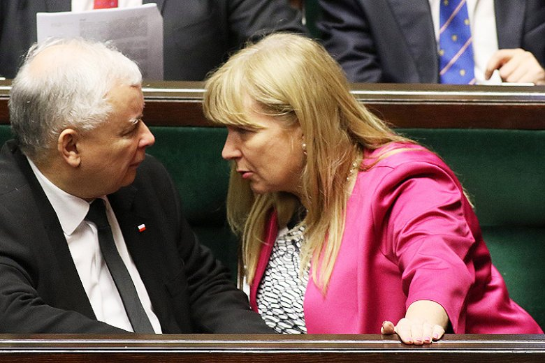 """Posłanka PiS Małgorzata Gosiewska nazywa przeciwników PiS """"bydłem"""" i """"swołoczą""""."""