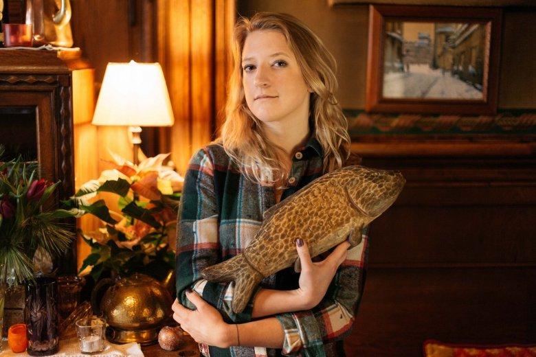 Lara Gessler jest w tym roku ambasadorem akcji dotyczącej bezpiecznego połowu karpi.