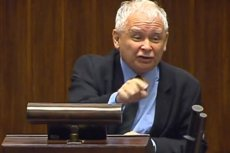 """Jarosław Kaczyński został zapytany o """"zdradzieckie mordy""""."""