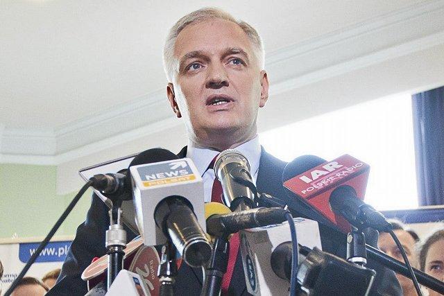 """Jarosław Gowin nie zrobi """"ani kroku w lewo"""""""
