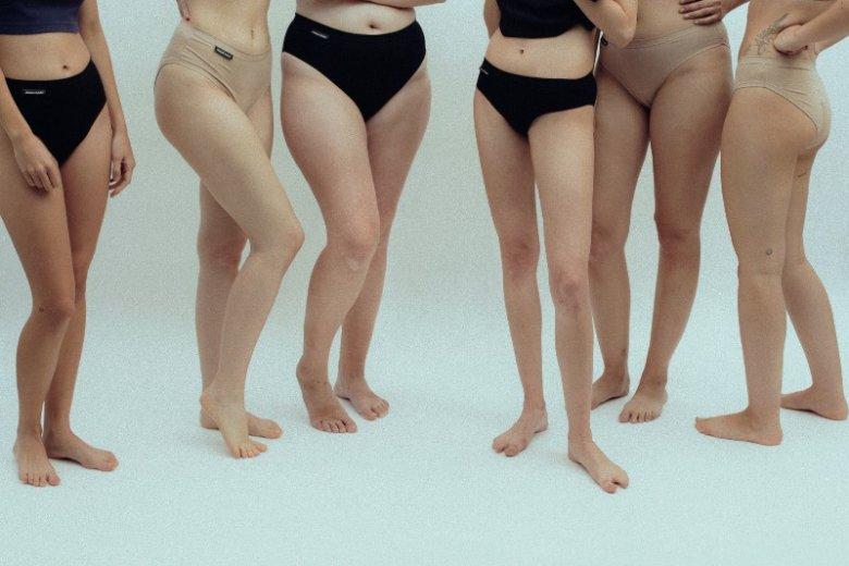 Majtki marki Element Żeński mają być przede wszystkim wygodne. Nie tylko dla kobiet w rozmiarze XS