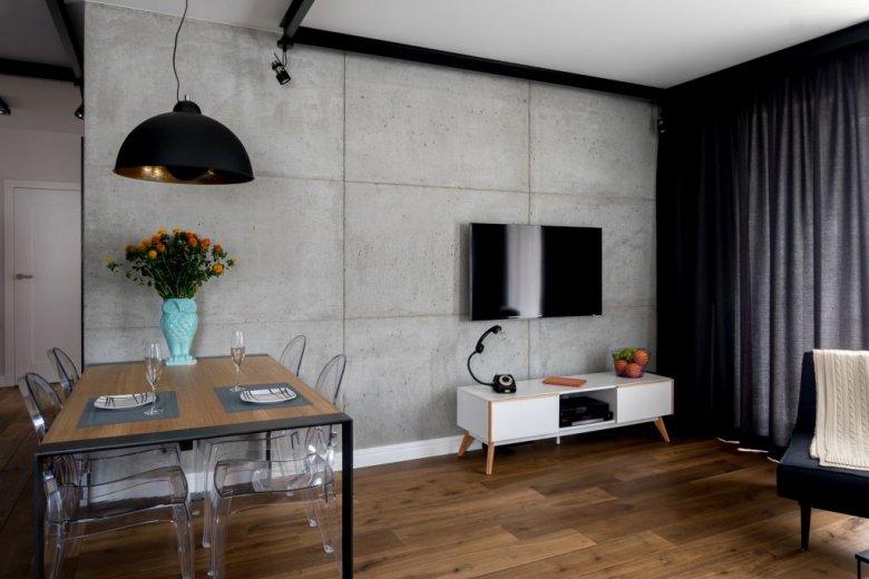 Wnętrze zaprojektowane przez pracownię architektoniczną Jacka Tryca