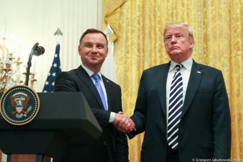 """Andrzej Duda nie był pierwszy – """"Fort Trump"""" wymyślono jużdawno."""