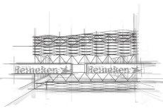 Heineken Design Pavilion na tegorocznym Open'erze zaprojektowało Studio Rygalik.