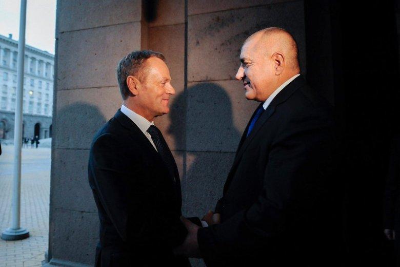 Przewodniczący Donald Tusk brał udział w przekazaniu półrocznej prezydencji w UE Bułgarii. Przemówienie wygłosił po... bułgarsku.