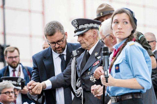 Gen. bryg. Zbigniew Ścibor-Rylski wygłosił przejmujące przemówienie podczas obchodów 73. rocznicy wybuchu Powstania Warszawskiego.