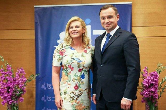 Prezydent Andrzej Duda spotykał się z prezydent Chorwacji Kolindą Grabar-Kitarović już kilka razy.