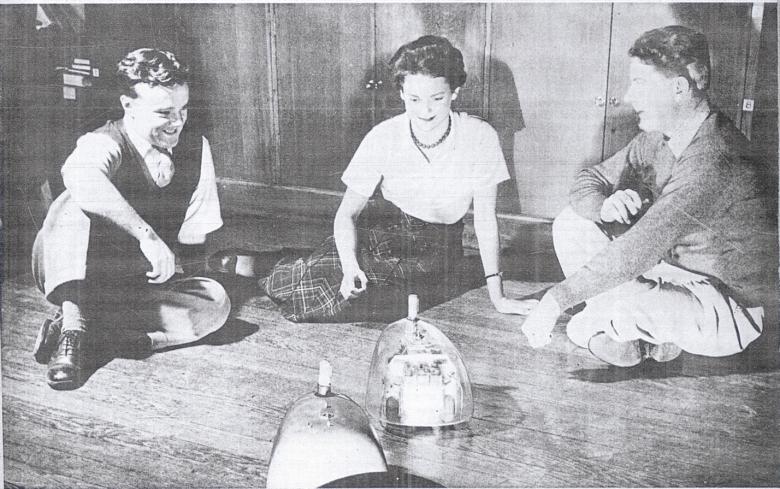 Przykłady pierwszych cybernetycznych systemów samodzielnych - elektroniczne żółwie Waltera Graya