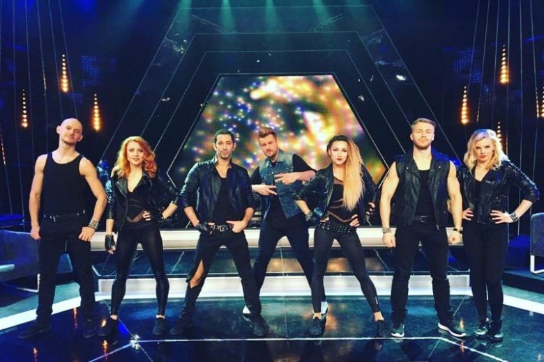 """Santo tworzy też choreografie do programów telewizyjnych, m.in. popularnego show """"Jaka to melodia"""""""