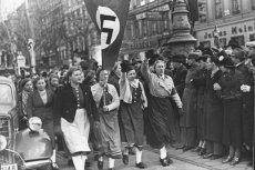 Włączenie Austrii do Rzeszy było celebrowane w obu krajach.
