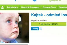 Internauci zebrali już ponad 7 mln zł na leczenie Kajtka.
