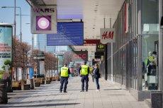 W ciągu ostatniego weekendu mandaty karne otrzymało kilkaset osób w Warszawie.
