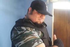 """Sajad Gharibi - """"irański Hulk"""", który chce walczyćz ISIS."""