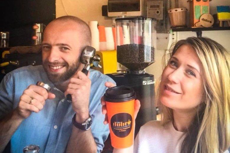 Oleg i Inna są właścicielami lokalu. Założyli kawiarnię 3 lata temu