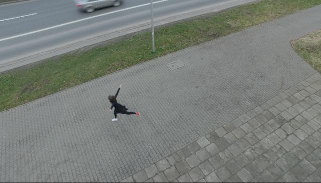 Taniec jako urządzenie mapujące (Miasto), 2015