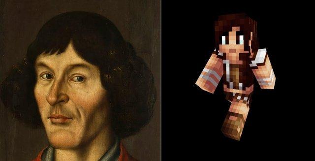 Jak wyglądałby Kopernik w Minecraft?