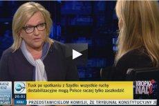 """Monika Olejnik była gościem Beaty Kempy. """"Jak mam prowadzić wywiad, jeśli pani nie odpowiada na pytania?"""""""
